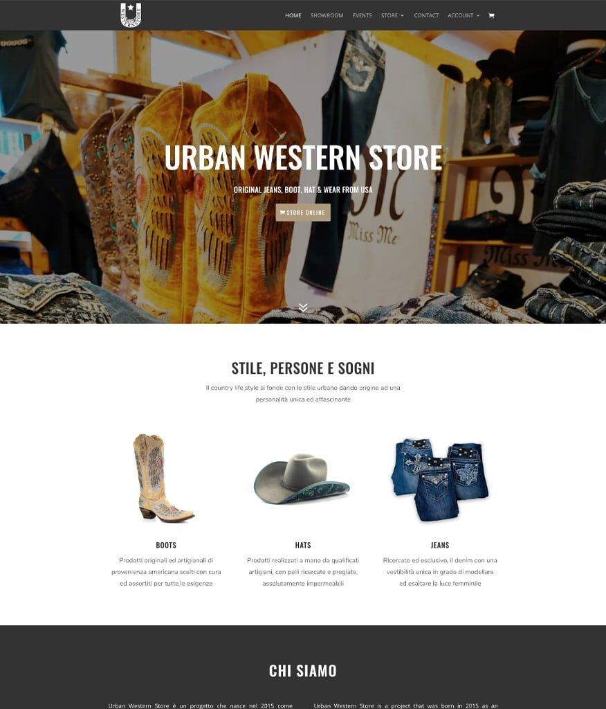 Urban Western Store Portfolio