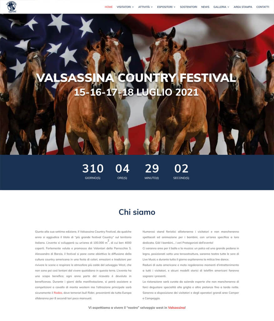 Valsassina Country Festival Portfolio