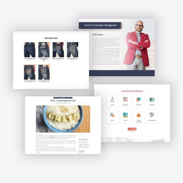 mattiwebdesign template professionali